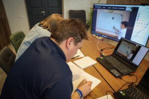 Система видеоконференции обеспечила удобное взаимодействие с участниками турнира